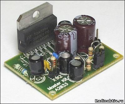 Усилитель НЧ 100 Вт (TDA7294)
