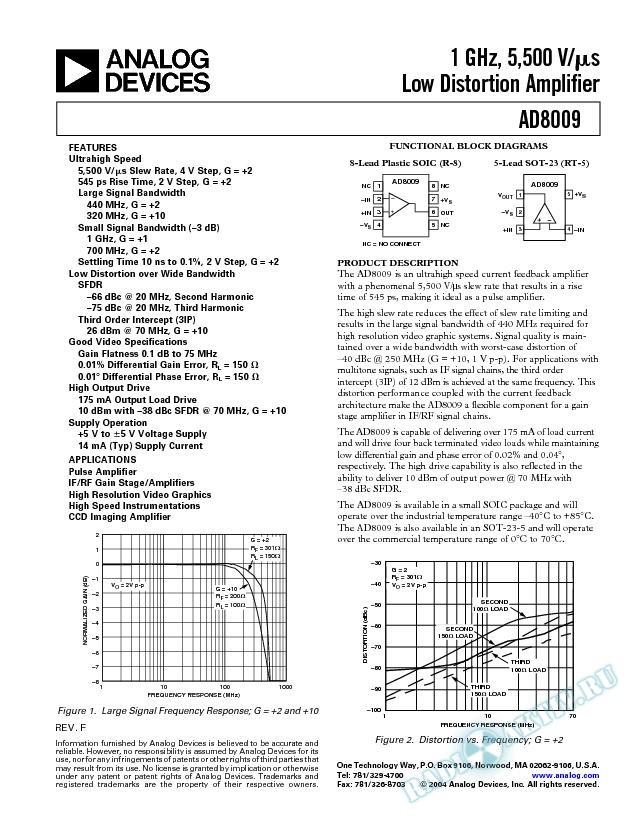 AD8009
