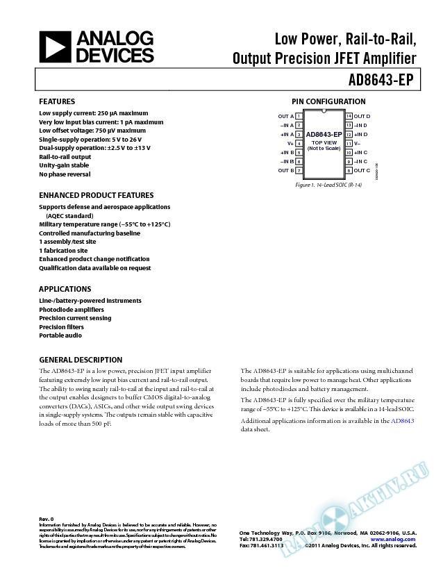 AD8643-EP
