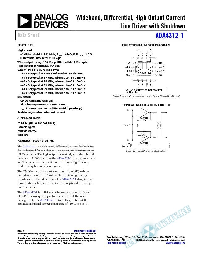 ADA4312-1
