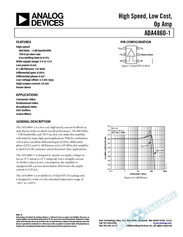 ADA4860-1