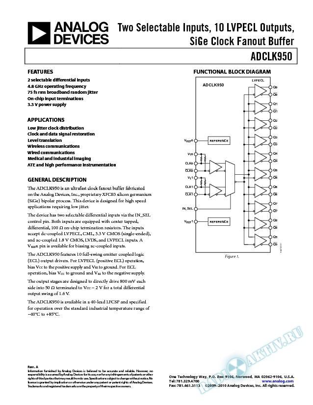 ADCLK950