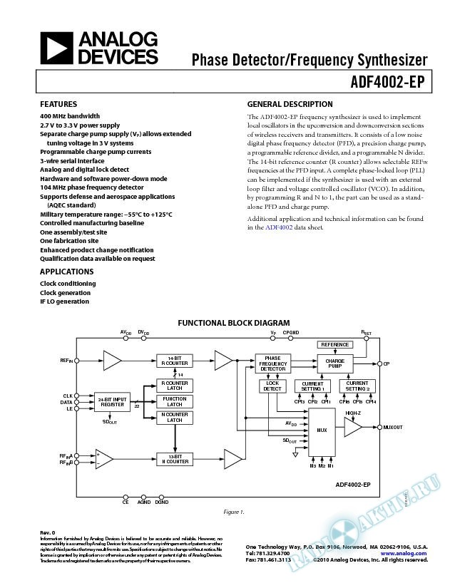 ADF4002-EP