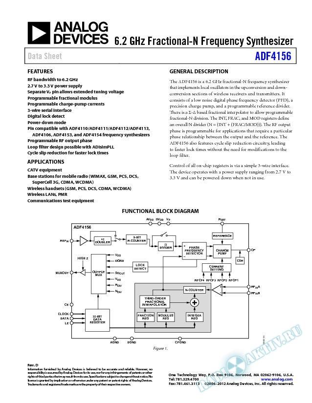 ADF4156