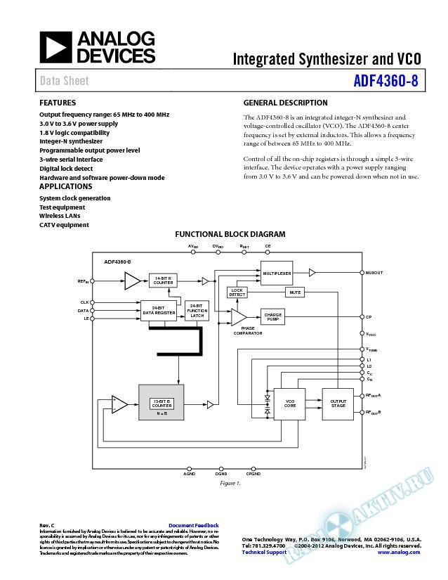 ADF4360-8