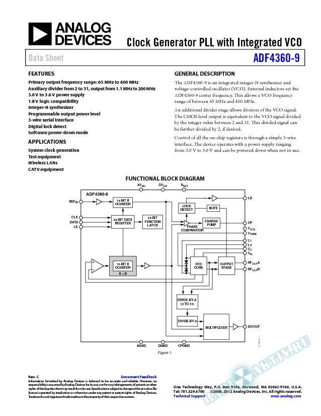 ADF4360-9