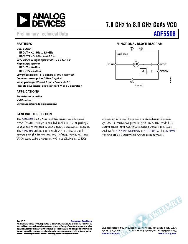 ADF5508