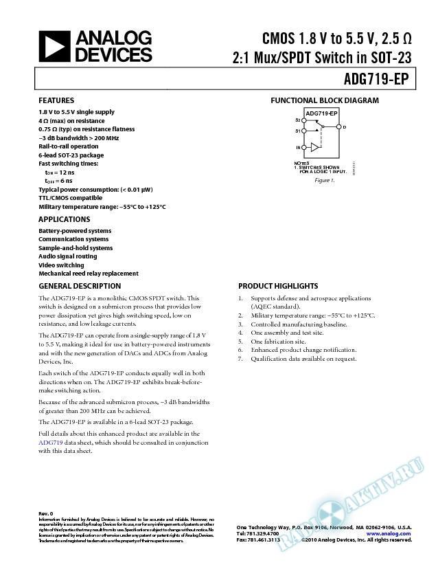 ADG719-EP
