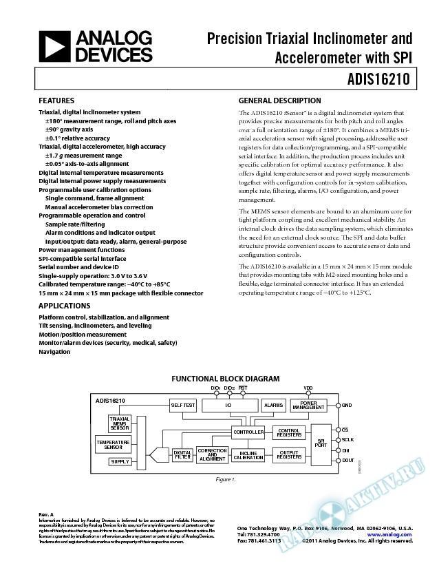 ADIS16210