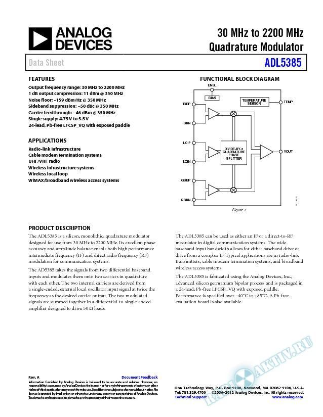 ADL5385
