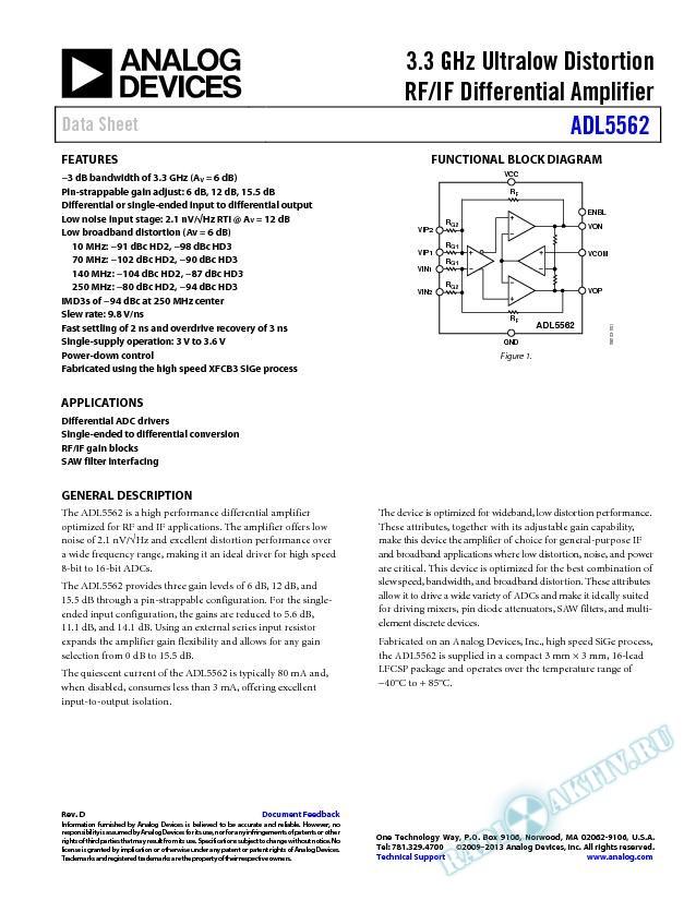 ADL5562
