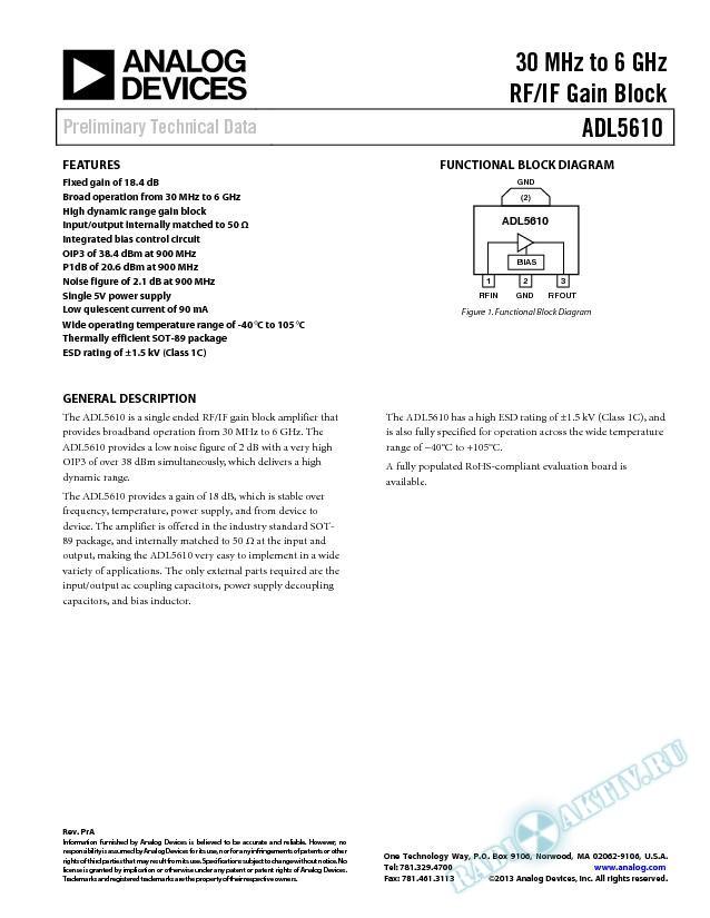 ADL5610