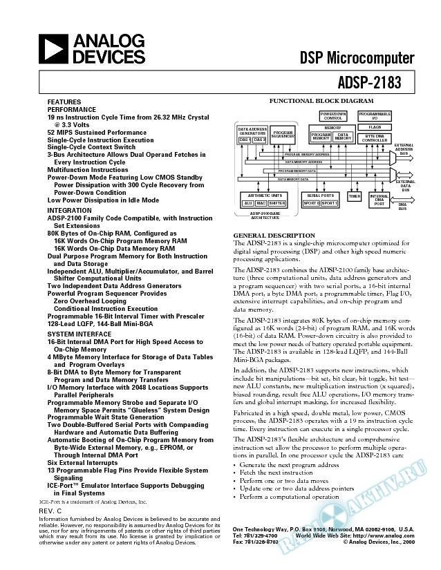 ADSP-2183