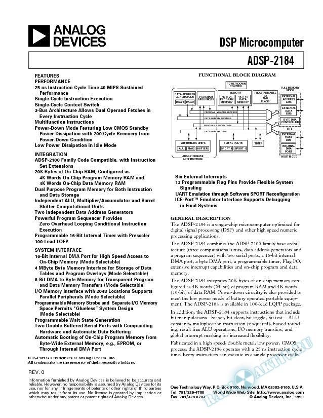 ADSP-2184