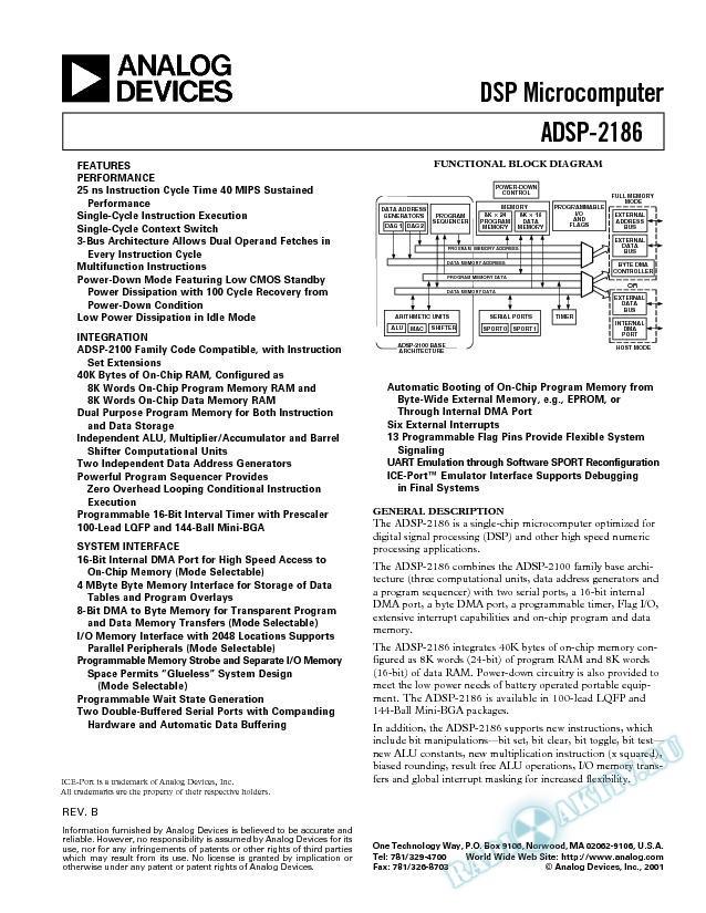ADSP-2186