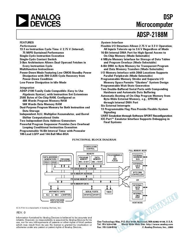 ADSP-2188M