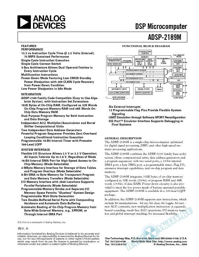 ADSP-2189M