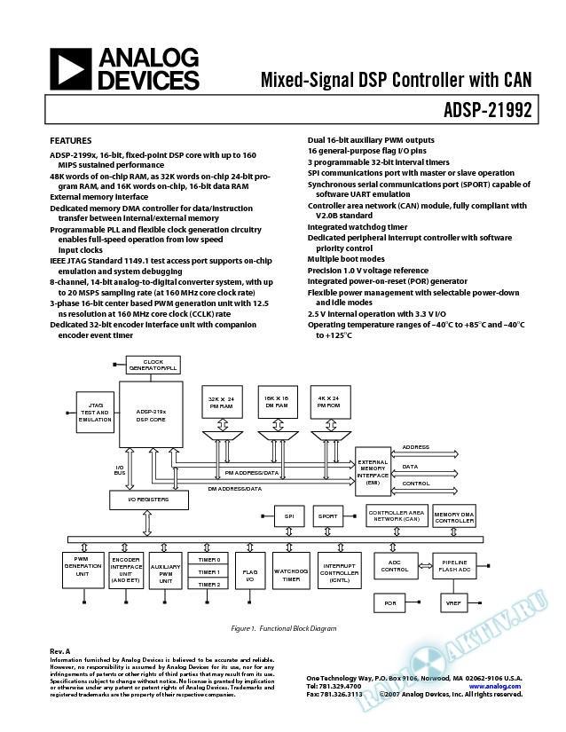 ADSP-21992