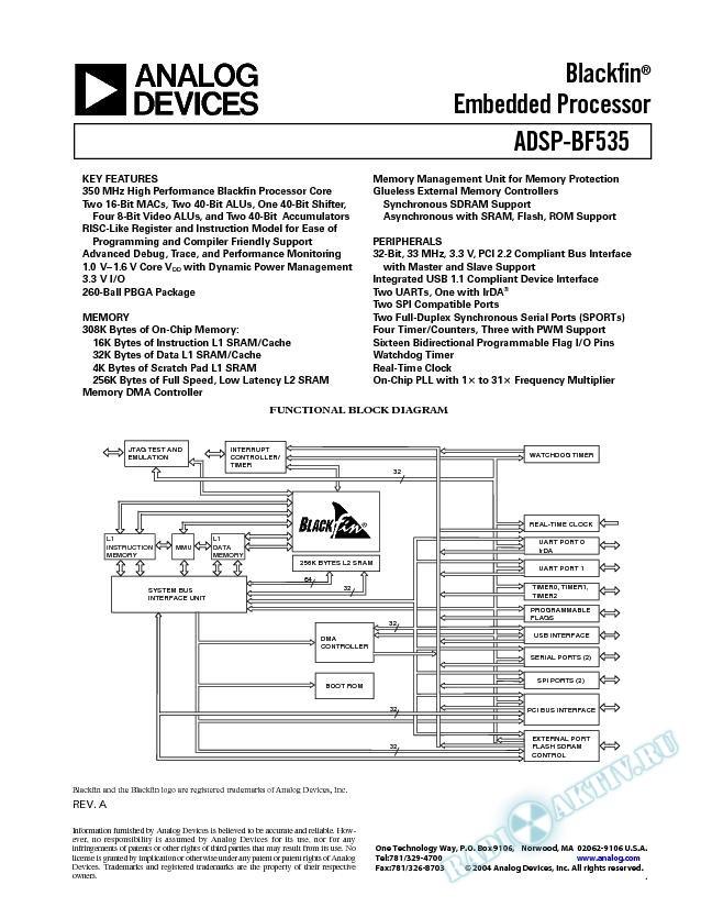 ADSP-BF535