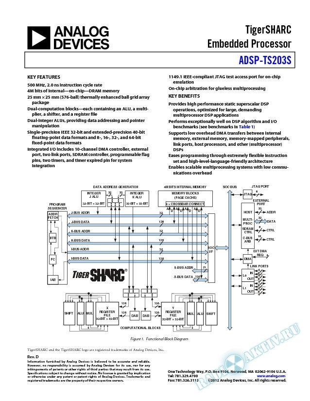 ADSP-TS203S