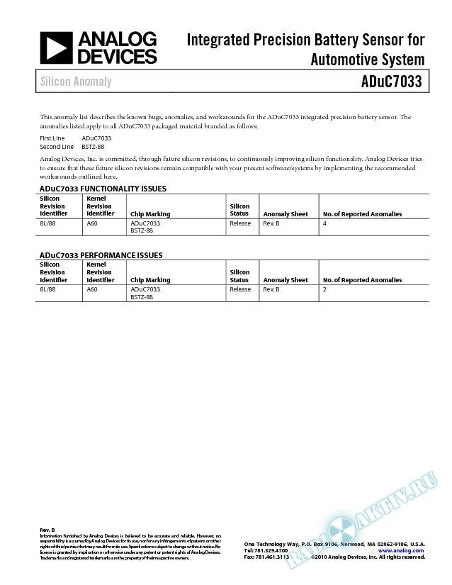 ADuC7033