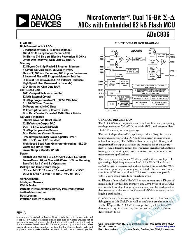 ADuC836