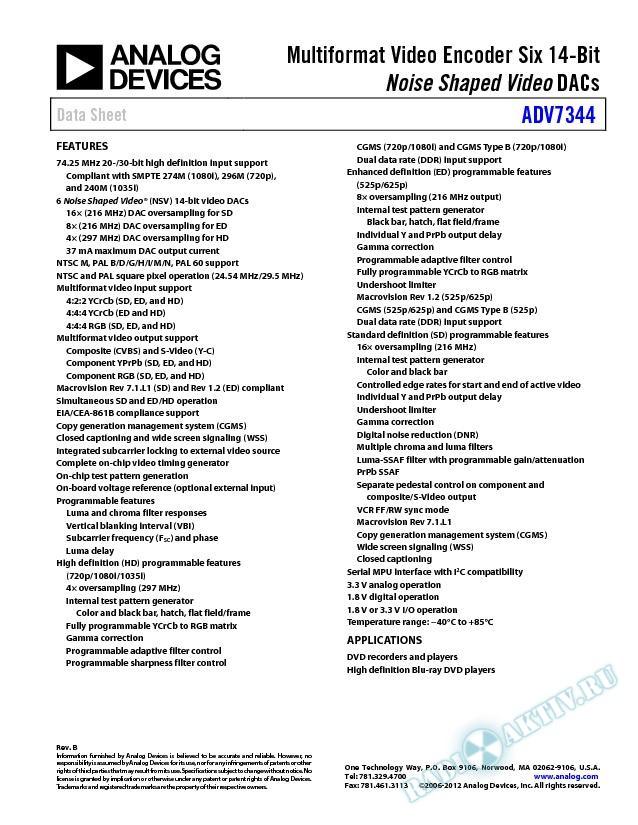 ADV7344