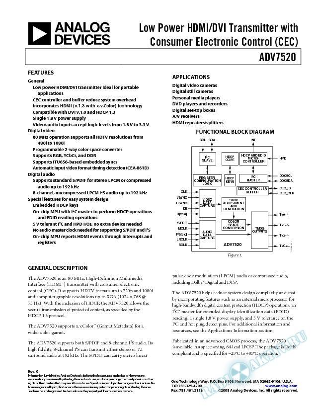 ADV7520