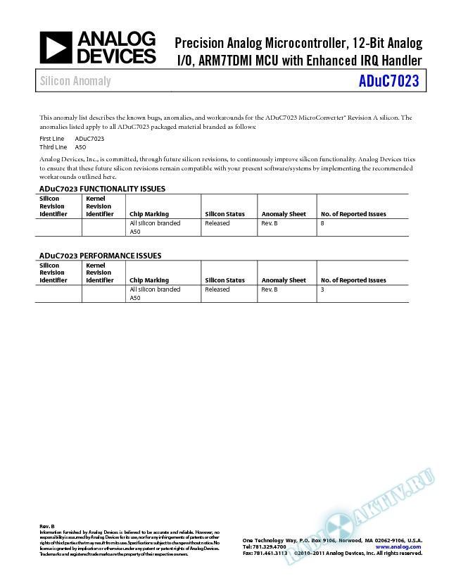 ADuC7023