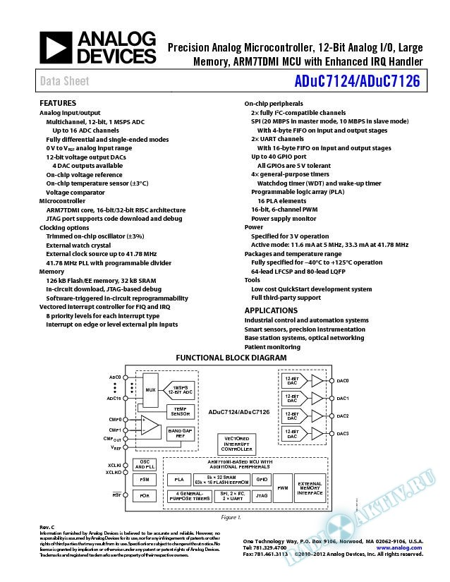 ADuC7124/ADuC1726