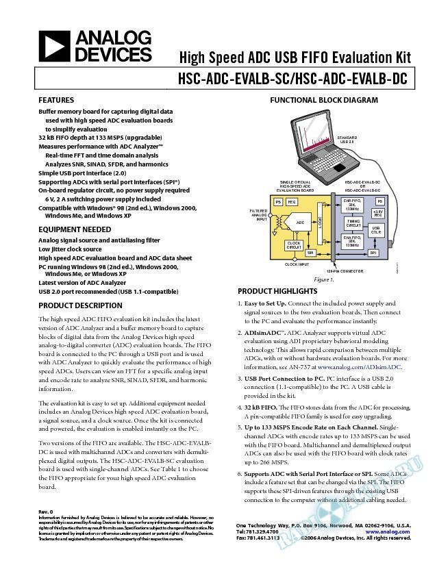 HSC-ADC-SC/HSC-ADC-DC
