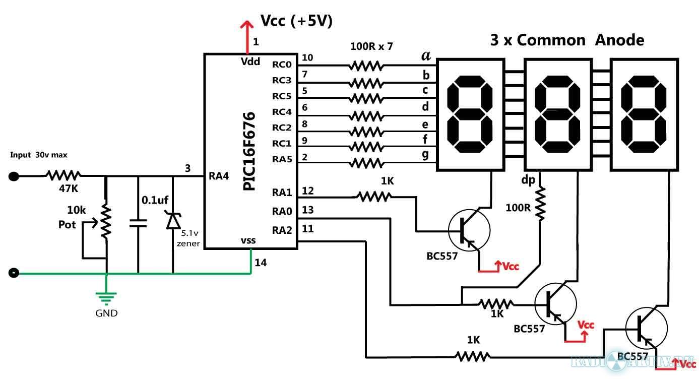 Амперметр на светодиодах своими руками схема фото 194
