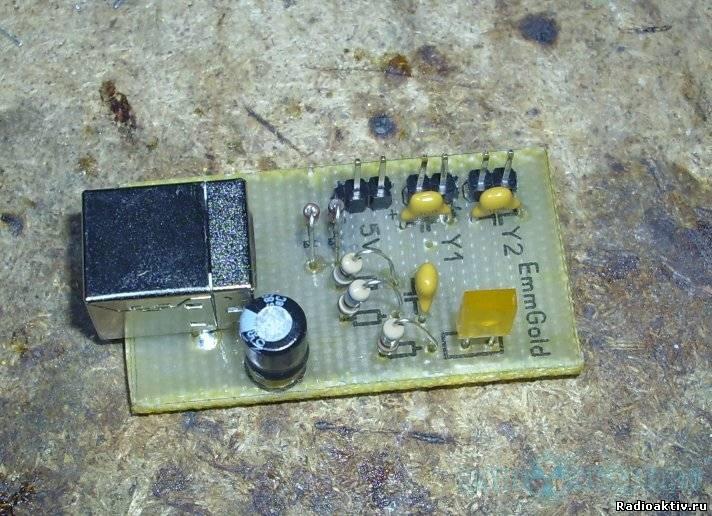 Простой USB-осциллограф.