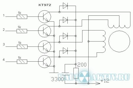 Контроллер шагового двигателя управление шаговым двигателем