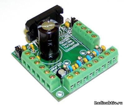 Автомобильный усилитель класса HI-FI на TDA7560