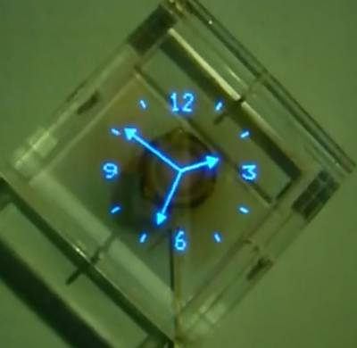 Часы пропеллер