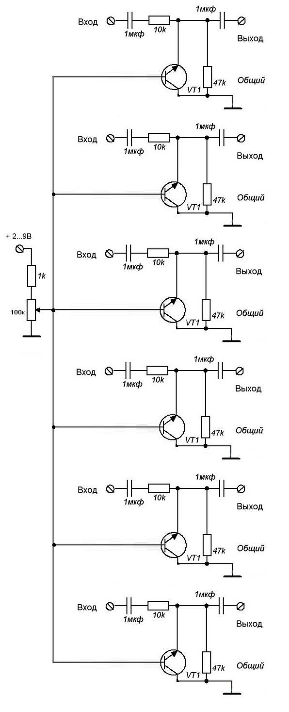 cd4017 световой автомат схема