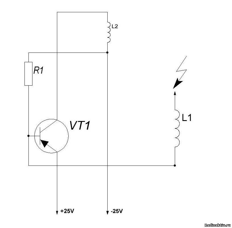 Схема трансформатора